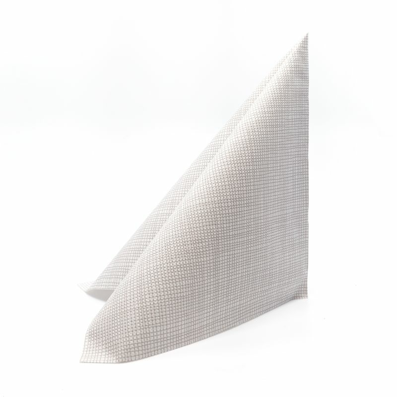 Mikropunto szalvéta 40x40 cm Gama Hilo - szürke - 40ntblhgr