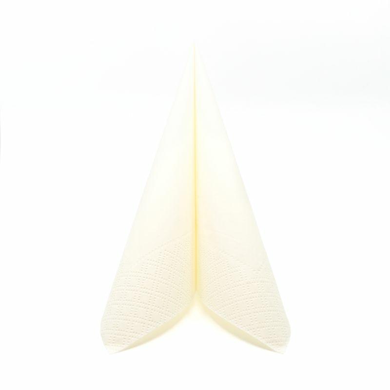 Papírszalvéta 33x33 cm 2 réteg csont - v334c270050a34