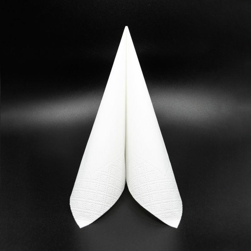Papírszalvéta 33x33 cm 2 réteg fehér - v334b540050a