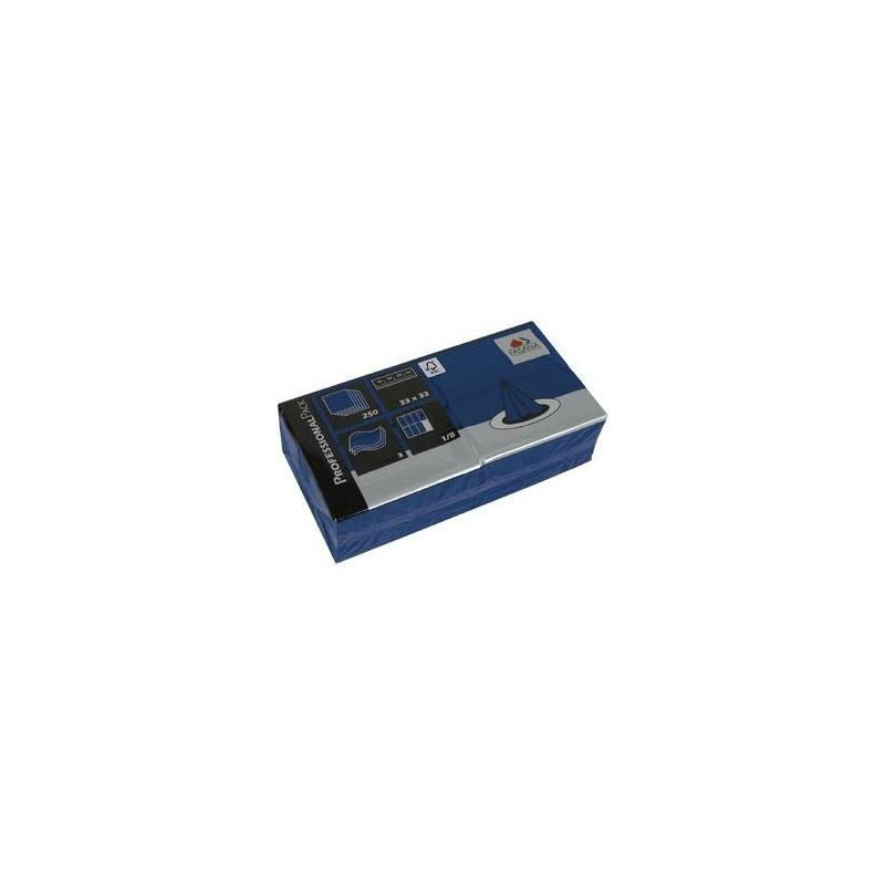 Papírszalvéta 33x33 cm 1/8 hajtású 2 réteg kék