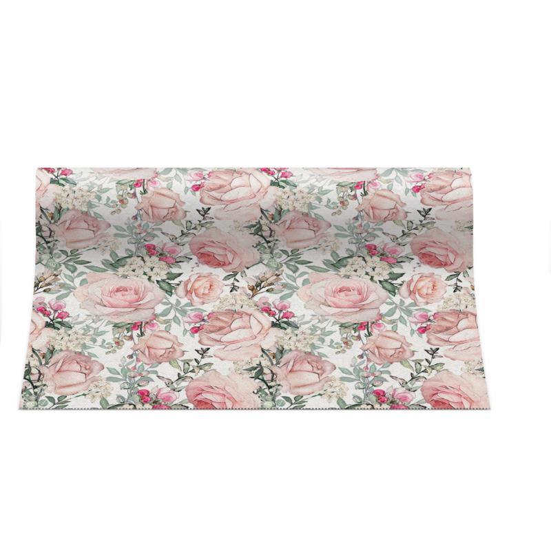 Asztali futó 40 cm x 24 m textilhatású Gorgeous Roses