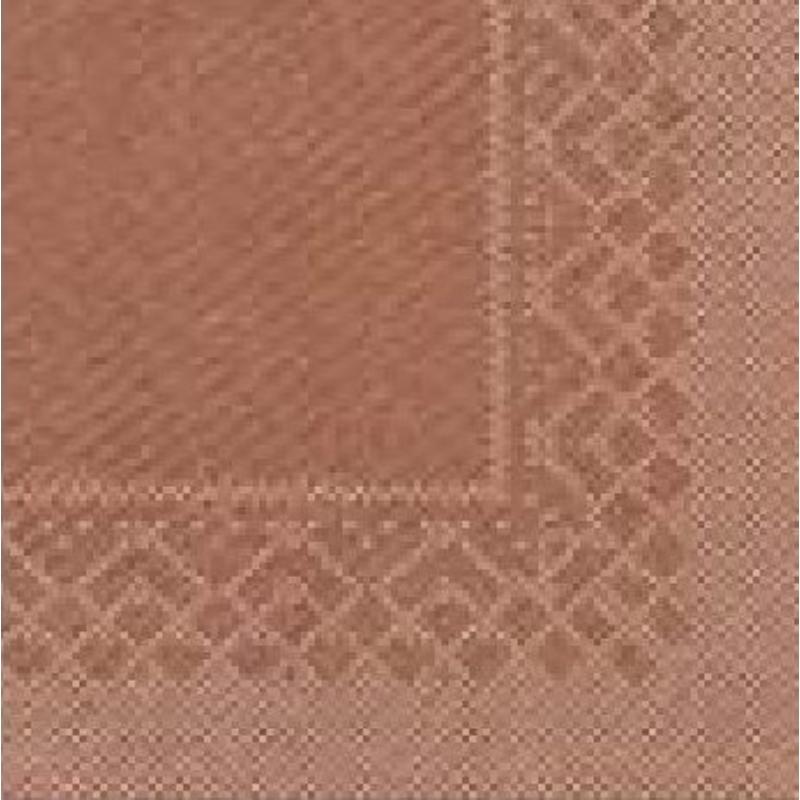 Papírszalvéta 3 rétegű 33x33 cm bronz