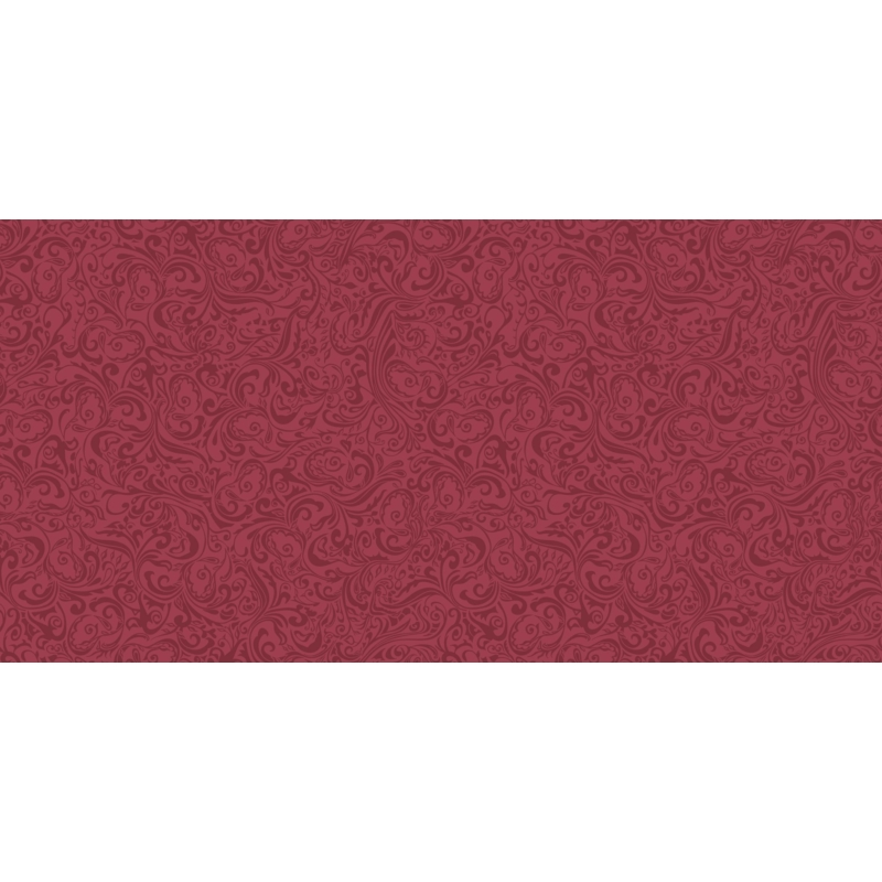 Asztali futó 40 cm x 24 m textilhatású Lias - bordó