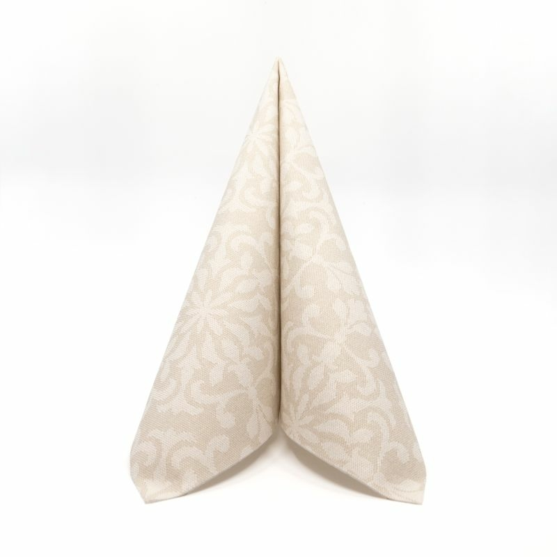 Mikrotextil hatású szalvéta 40x40 cm Florence - bézs - 6409110