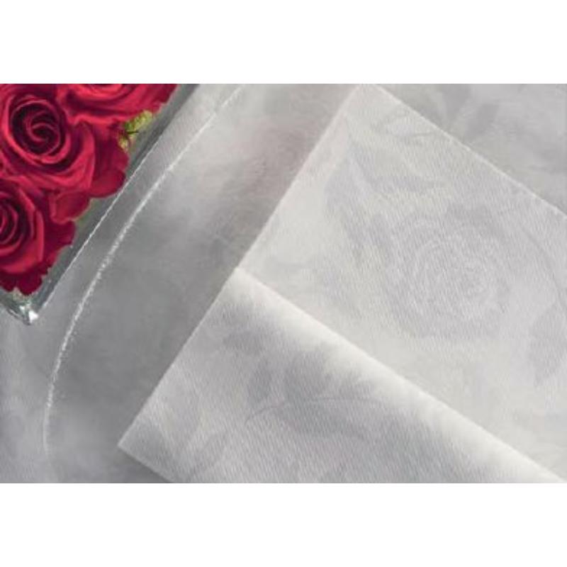 Textilhatású szalvéta 44x44 cm Florence - perla