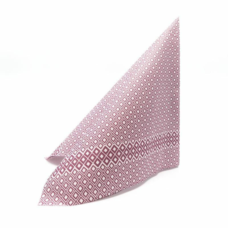 Textilhatású szalvéta 40x40 cm Windows - bordó - k404f4151271b