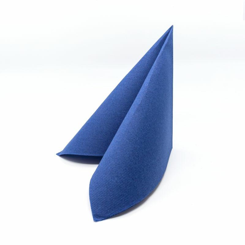 Punta Punta szalvéta 38x38 cm egyszínű - kék - V384C360040P28