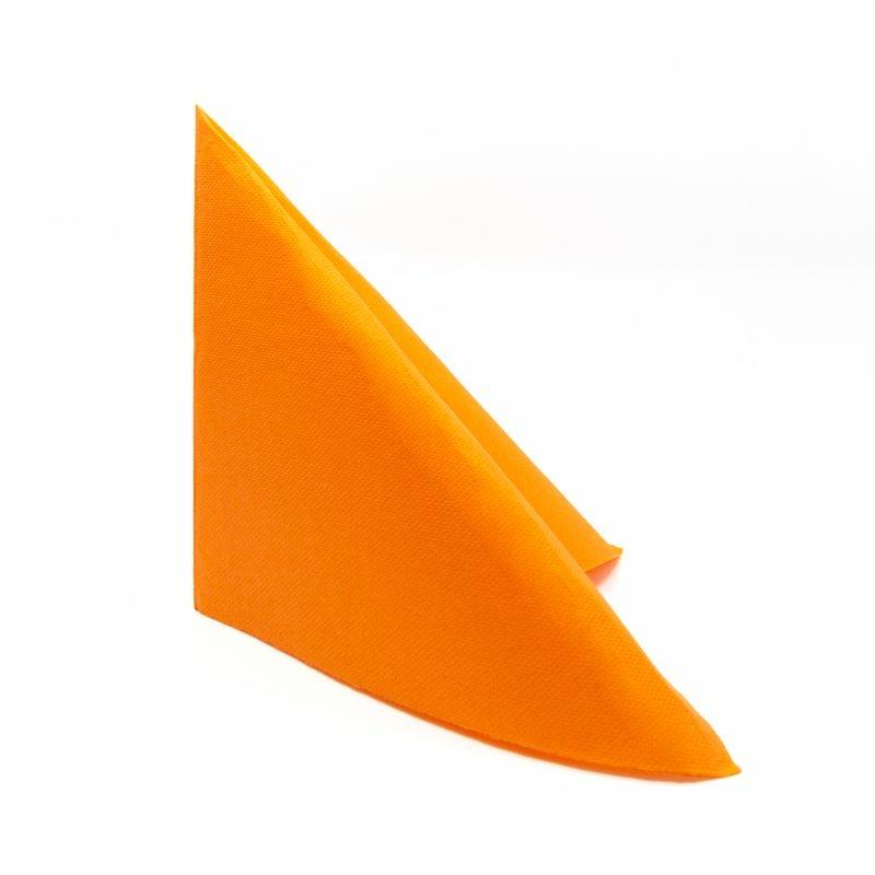 Punta Punta szalvéta 38x38 cm egyszínű - mandarin - V384C360040P39
