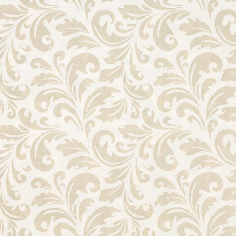 Textilhatású szalvéta 40x40 cm Carlo – pezsgővilágosbarna - 84199