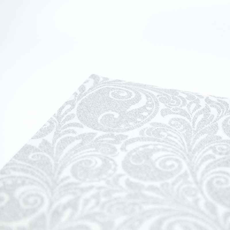Papírszalvéta 3 rétegű 40x40 cm Jordan - ezüst