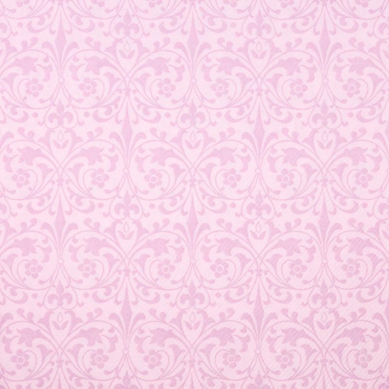 Textilhatású szalvéta 40x40 cm Janet - rózsa - 84204