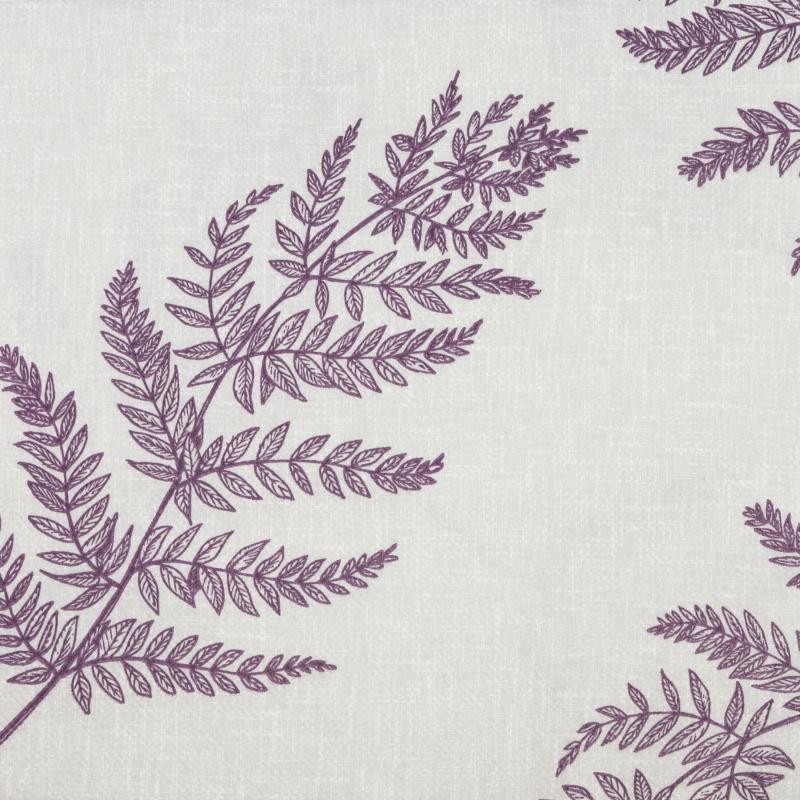 Textilhatású szalvéta 40x40 cm Fern Leaf - viola - AAN005624